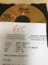 Billy Idol-Rebel Yell Mastered 24K Gold -REF with Packaging