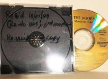 The Doors Morrison Hotel Revised 24K Gold CD pressing