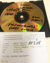 Stevie Wonder-Fulfillingness' First Finale 24k GOLD REF DISC