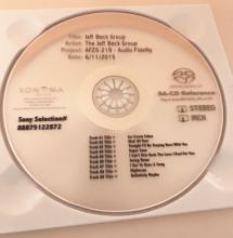 "The Jeff Beck Group ""the orange album"" SACD REF Disc"