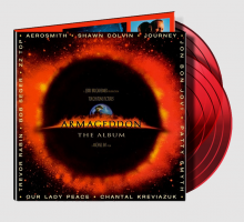 Armageddon - The Movie (OST) 2-LP Red 180g Vinyl - Aerosmith, Journey, ZZ Top, Bob Seger, Jon Bon Jovi, Shawn Colvin