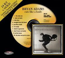 Bryan Adams  Cuts Like A Knife 24k GOLD CD