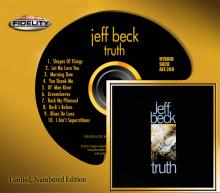 Jeff Beck Truth SACD Audio Fidelity