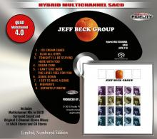 The Jeff Beck Group - Jeff Beck Group 4.0 Quad SACD Orange Album