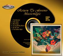 Return to Forever  Musicmagic  SACD