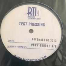 Sade Stronger Than Pride LP TEST PRESSING Audio Fidelity