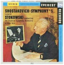 Leopold Stokowski DCC LP Shostakoitch Symphony No.5 Op 47