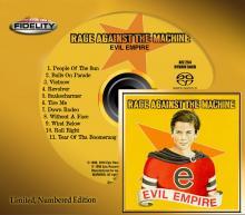Rage Against The Machine EVIL EMPIRE SACD